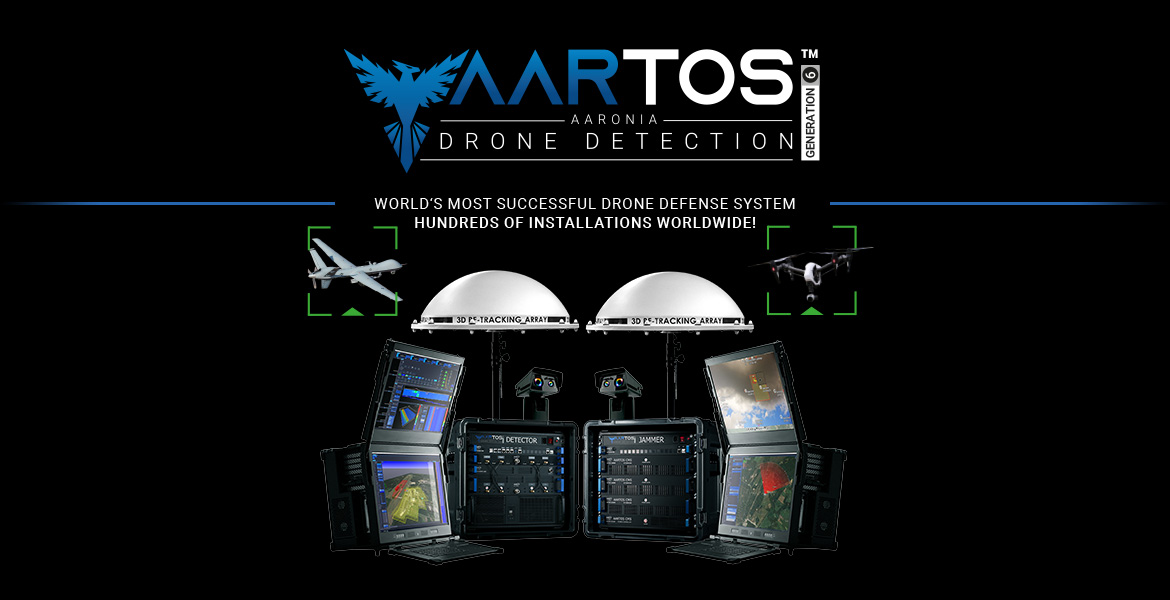 Aaronia AARTOS Drone Detection System